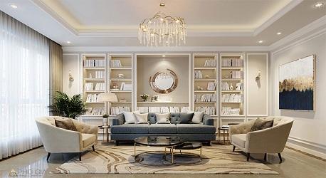 Thiết kế nội thất Villa Cao Cấp An Tây Galleria – Quận 7