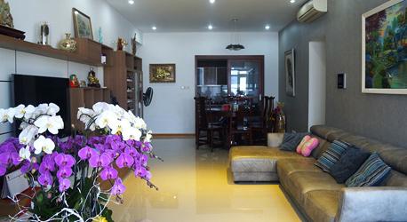 Thi công nội thất Căn Hộ Saigon Pearl 120 m2