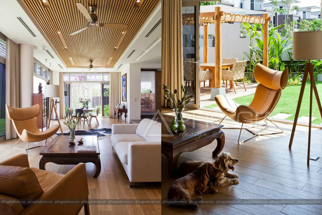 Thiết kế nội thất Biệt Thự Nam Long - Quận 9