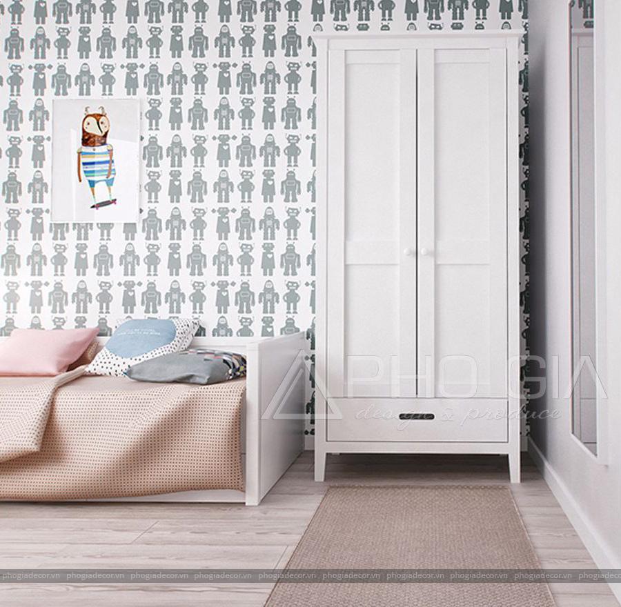 Thiết kế nội thất căn hộ chung cư Bình Chánh - 107 m2