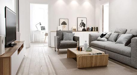 Thiết kế căn hộ chung cư Bình Chánh – 107 m2
