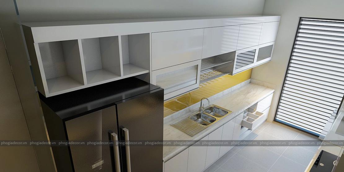 Thiết kế căn hộ Panorama 96 m2 – Quận 7