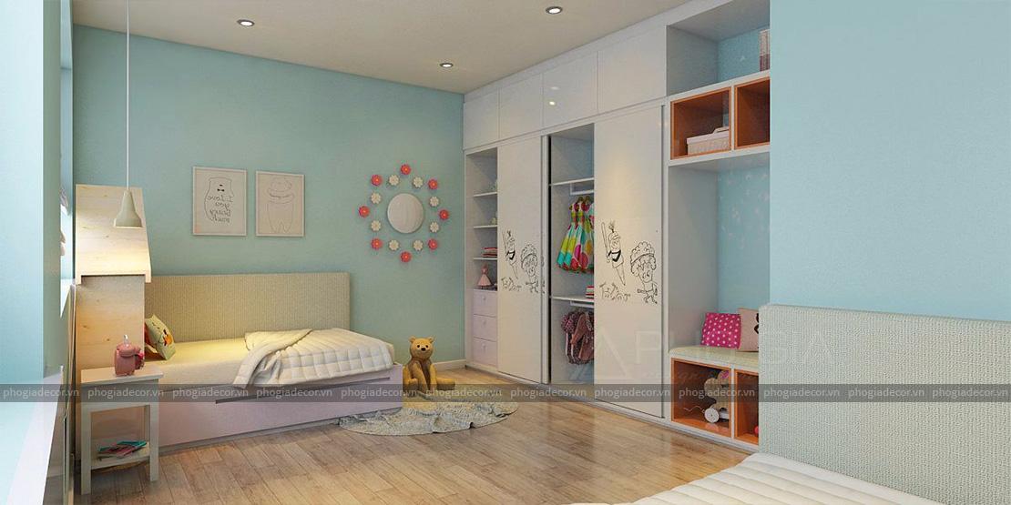 Thiết kế căn hộ Panorama 96 m2 – Phú Mỹ Hưng, Quận 7