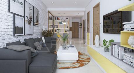 Thiết kế nội thất căn hộ Saigonres – Plaza Bình Thạnh