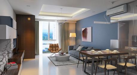 Thiết kế căn hộ Thanh Đa 100 m2 – Bình Thạnh