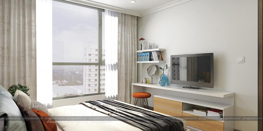 Thiết kế nội thất căn hộ VINHOMES CENTRAL PARK