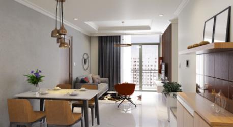 Thiết kế căn hộ vinhomes – 65 m2