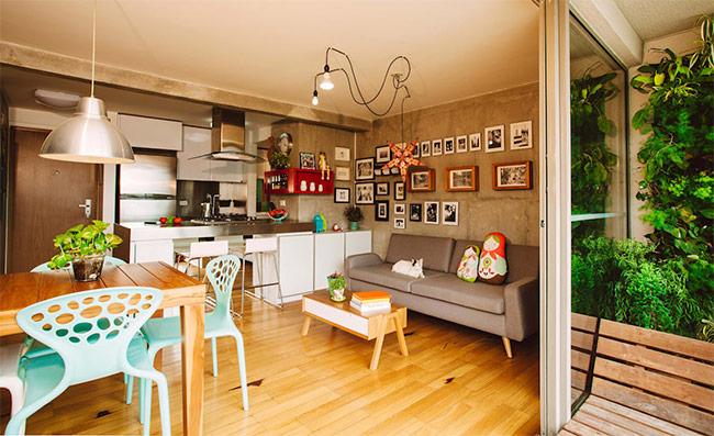 Nên tận dụng những đồ nội thất cũ nếu chúng vẫn còn sử dụng được. Khi được tân trang, các đồ nội thất cũ sẽ mang lại cảm giác chiết trung cho ngôi nhà của bạn.