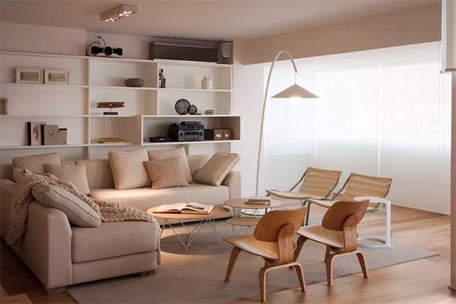Một căn phòng sáng sủa không những mang lại cảm giác rộng rãi, mà còn toát lên vẻ năng động và linh hoạt.