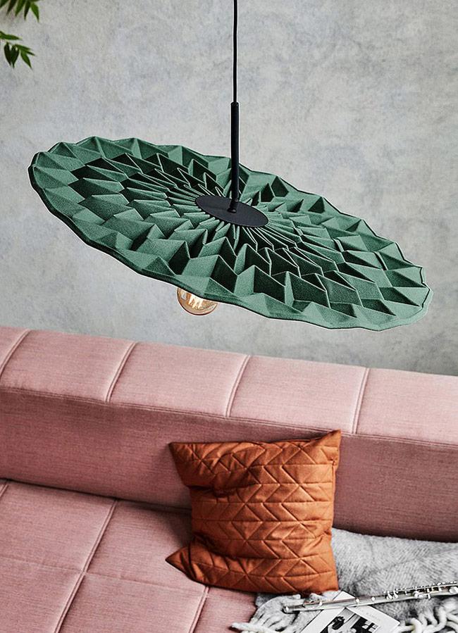 Thiết kế độc đáo lấy cảm hứng từ nghệ thuật Origami.