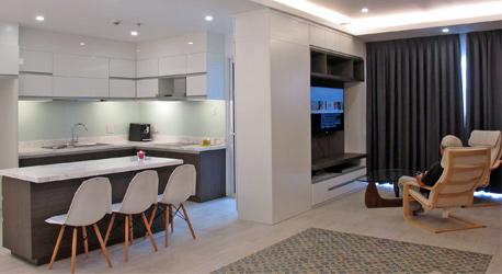 Thi công nội thất căn hộ Sala 78 m2