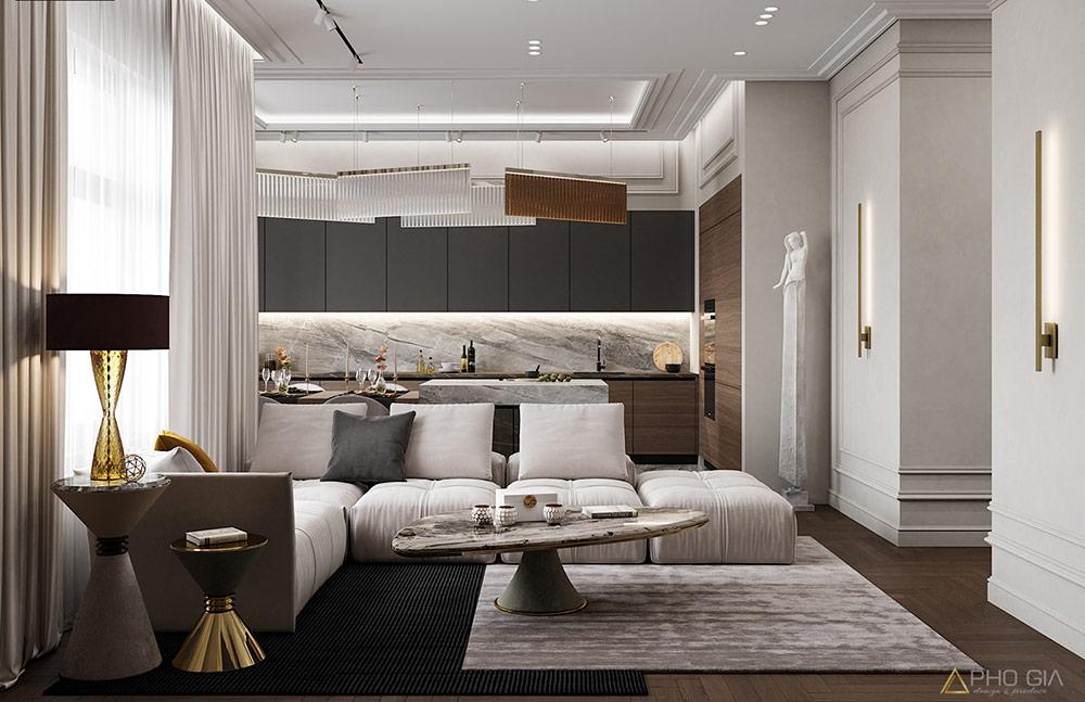 Thiết kế nội thất căn hộ quận 7