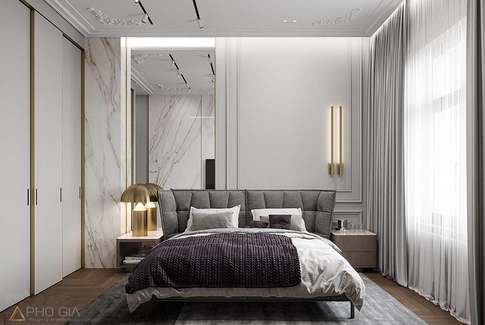 Thiết kế nội thất quận 7 không gian phòng ngủ Master