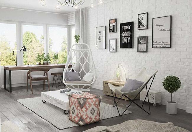 Ánh sáng cũng là một phần không thể bỏ qua trong mỗi thiết kế nội thất mang phong cách Bắc Âu.