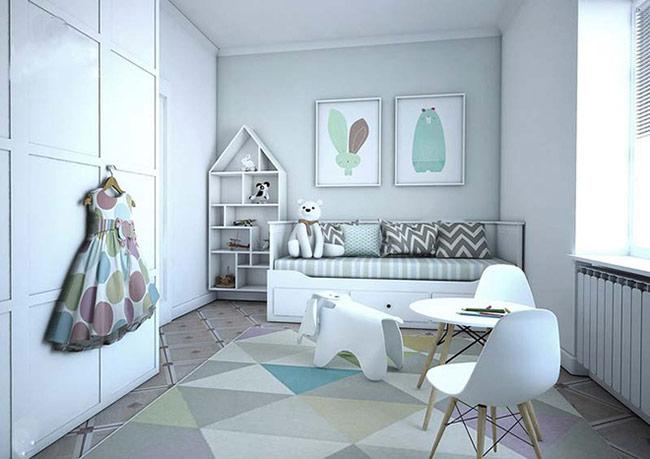 Phong cách Scandinavian cũng nổi tiếng với việc ưu tiên lựa chọn những sản phẩm nội thất tối giản, có tính ứng dụng cao.