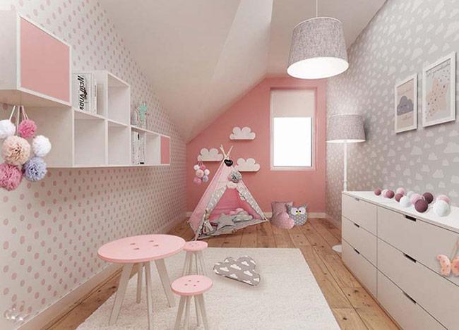 Các sản phẩm nội thất gỗ nên được lựa chọn với kích thước phù hợp với vóc dáng của trẻ.