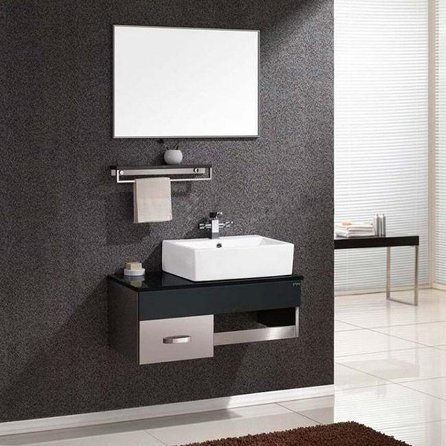 Lavabo nên được bố trí gần cửa, không nên đặt quá sâu trong phòng tắm gây bất tiện.
