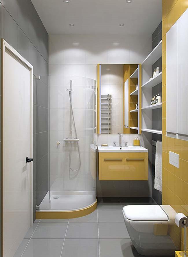 Nội thất phòng tắm tối thiểu có thể được liệt kê như sau: Chậu và vòi lavabo; vòi sen tắm; bệt vệ sinh; bình nóng lạnh; quạt thông gió; gương và các loại kệ. Nếu diện tích phòng tắm của bạn đủ rộng và có điều kiện, bạn có thể thiết kế thêm: bồn tắm và cả tủ đựng đồ đạc thiết yếu. Vậy bạn cần bố trí và lựa chọn như thế nào cho hợp lý?