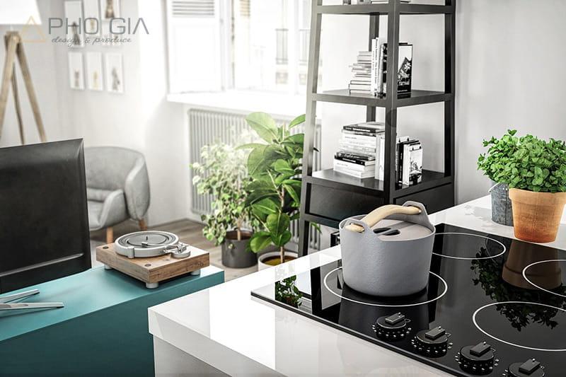 Thiết kế nội thất chung cư Vinhomes với phong cách Scandinavian