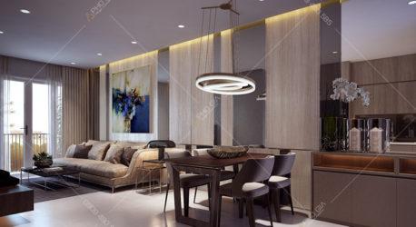Thiết kế nội thất căn hộ cao cấp Jamila Khang Điền Quận 9