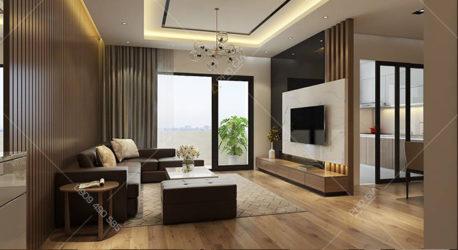 Thiết kế nội thất căn hộ Saigon Pearl Nguyễn Hữu Cảnh