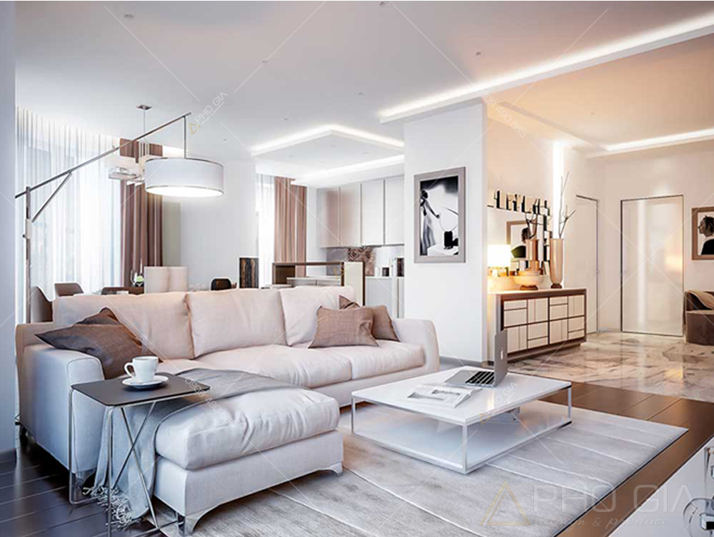 Thiết kế nội thất căn hộ vinhomes Bason