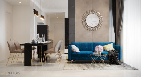 Thiết kế nội thất căn hộ Millenium Masteri – Q 4
