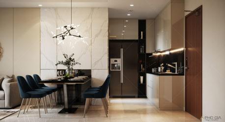 Thiết kế nội thất căn hộ Millenium Masteri – Q 4 -HCM