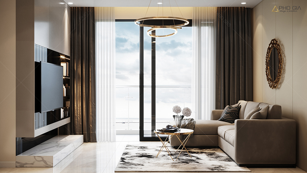 Thiết kế nội thất căn hộ XI GRANDCOURT Q10