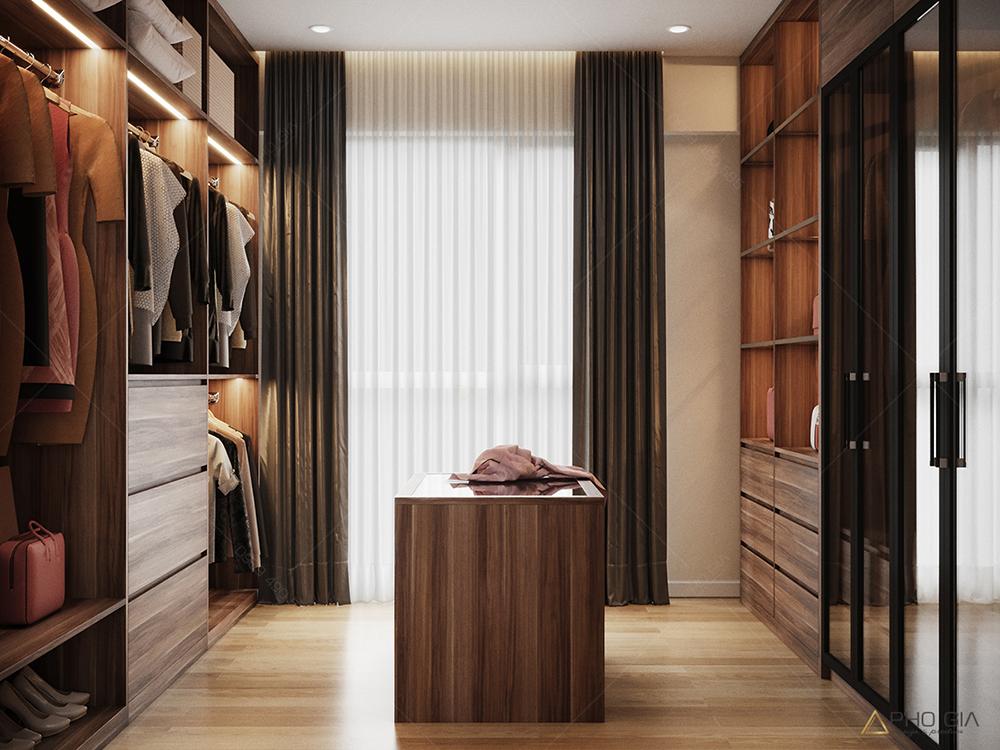 Thiết kế nội thất phòng khocăn hộ chung cưXi Grand Court