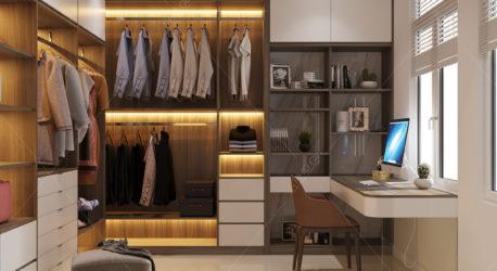 Thiết kế nội thất phòng ngủ Master – Bình Thạnh