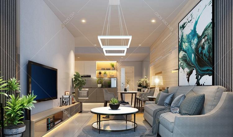 Thiết kế nội thất căn hộ cao cấp Jamila - Khang Điền