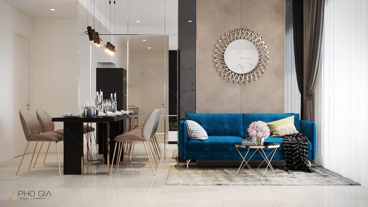 Nhà diện tích nhỏ nên thiết kế nội thất phòng khách hẹp ra sao?