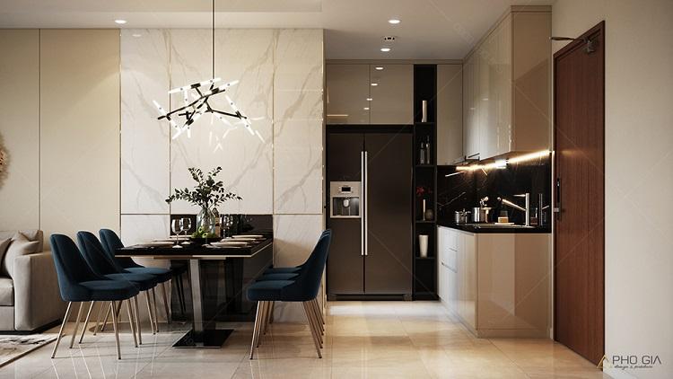 Gợi ý thiết kế nội thất căn hộ 3 phòng ngủ hoàn hảo