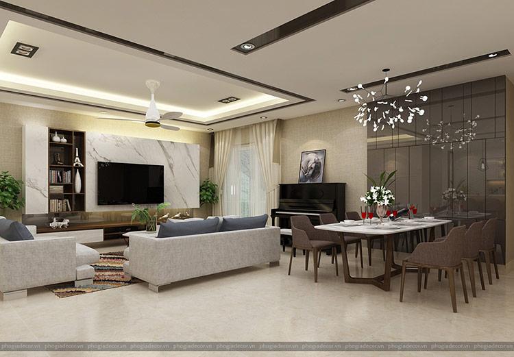 Thiết kế nội thất căn hộ Penthouse Quận 7 - Chung cư: Hoàng Anh Gia Lai 3
