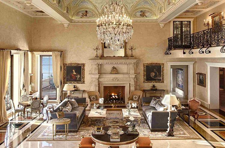 Thiết kế nội thất theo phong cách Baroque