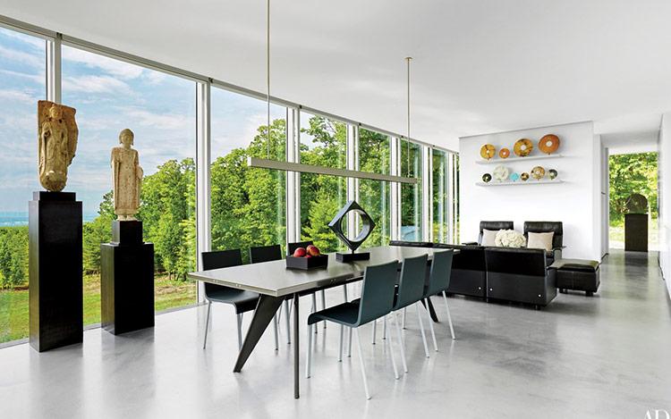 Thiết kế nội thất theo phong cách Contemporary