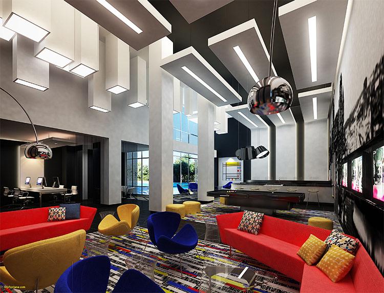 Thiết kế nội thất theo phong cách De Stijl