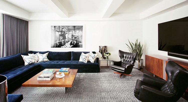 Thiết kế nội thất theo phong cách Mid-Century Modern