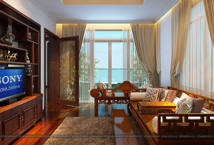Thiết kế nội thất Villa Tân Cổ Điển – Quận 9 được thực hiện bởi Phố Gia Decor