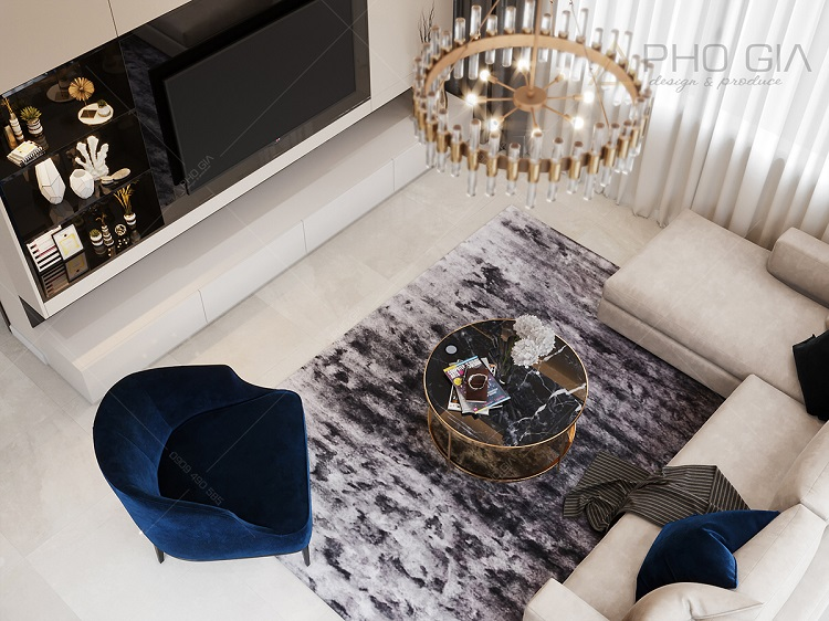 Top những xu hướng thiết kế phòng khách biệt thự