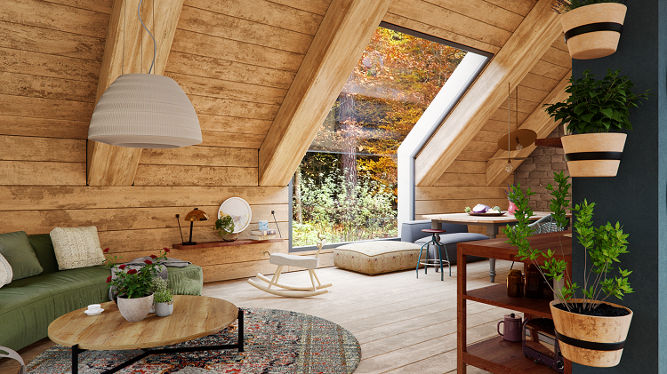 Tại sao phải thiết kế tầng gác mái cho nhà phố?