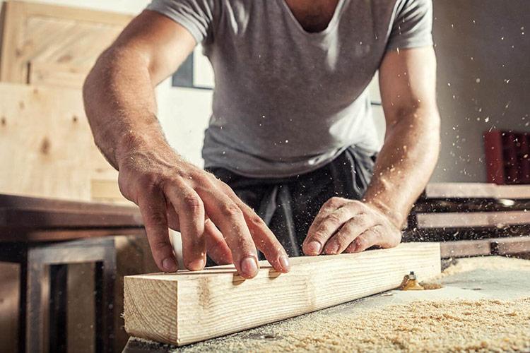Vật liệu chất lượng cao nhất cho đồ nội thất là gỗ nguyên khối