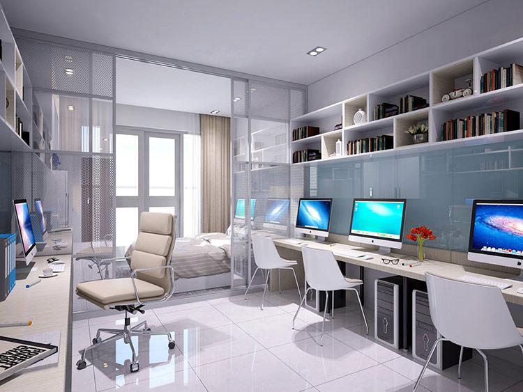 """Officetel được ghép từ hai từ """"Office"""" và """"Hotel"""", là sự kết hợp giữa nhà ở và văn phòng làm việc"""