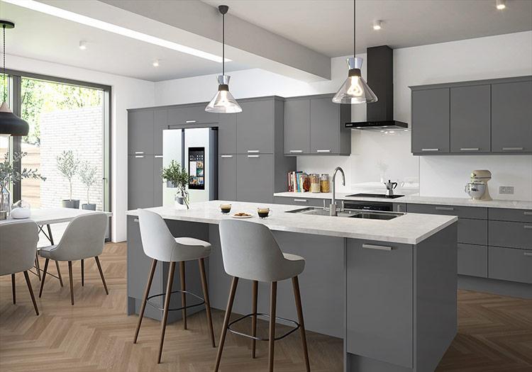 nội thất đa năng để tiết kiệm diện tích cho phòng bếp