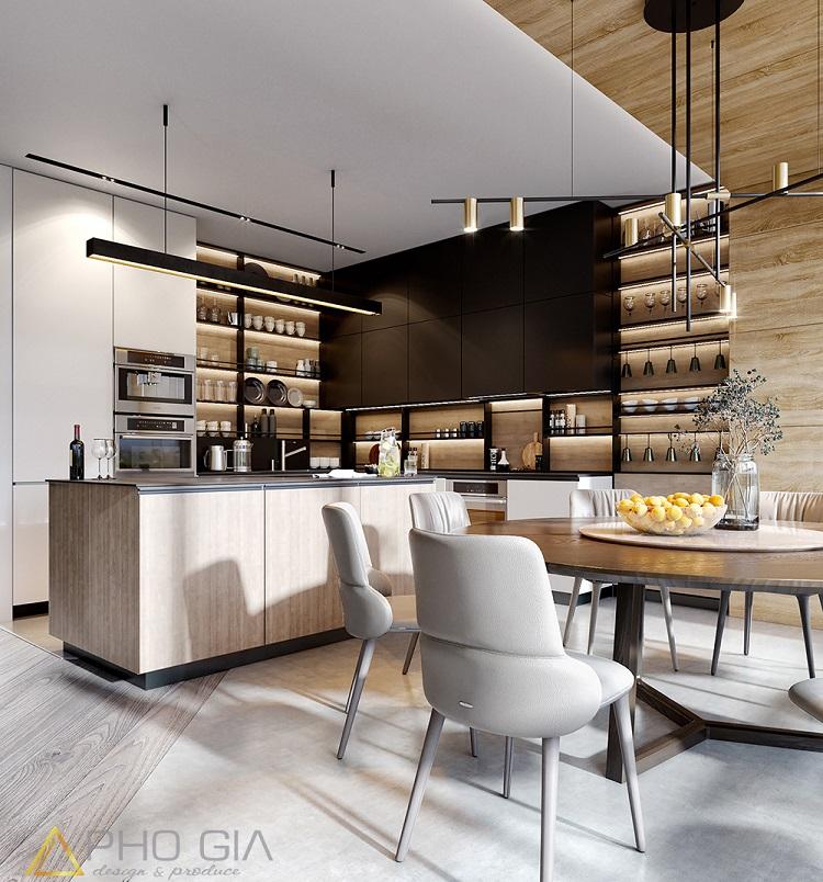 Những chuẩn mực bạn nhất định phải biết khi thiết kế nội thất phòng bếp