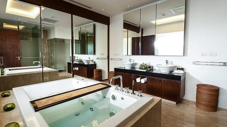 Những điều cần biết khi thiết kế nội thất phòng tắm biệt thự hiện đại