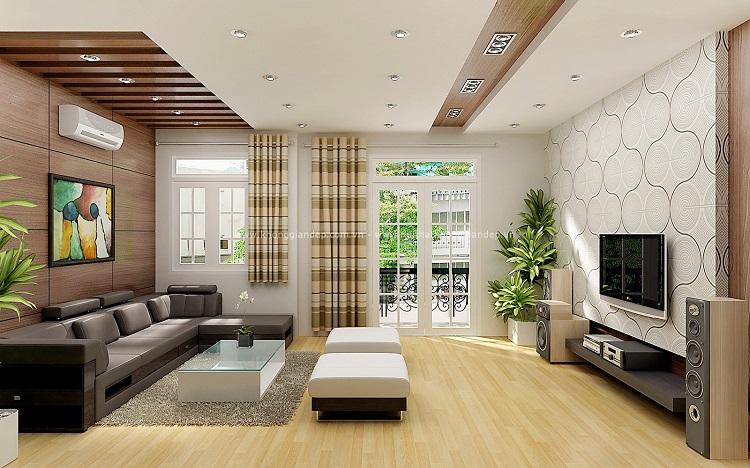 Những điều cần lưu ý để thiết kế phòng khách biệt thự đúng phong thủy