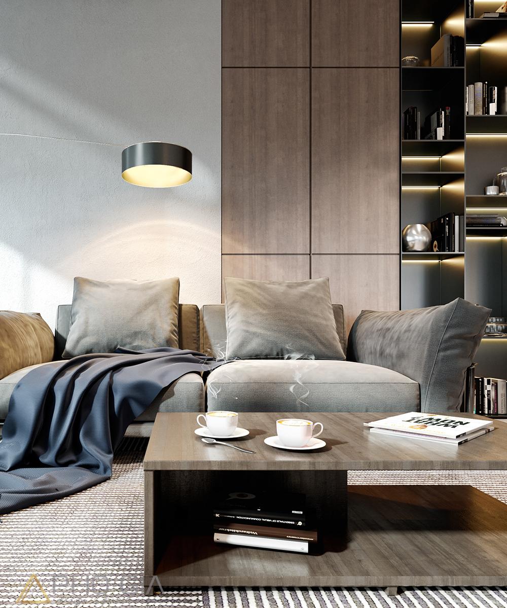 thiết kế nội thất căn hộ gateway vũng tàu