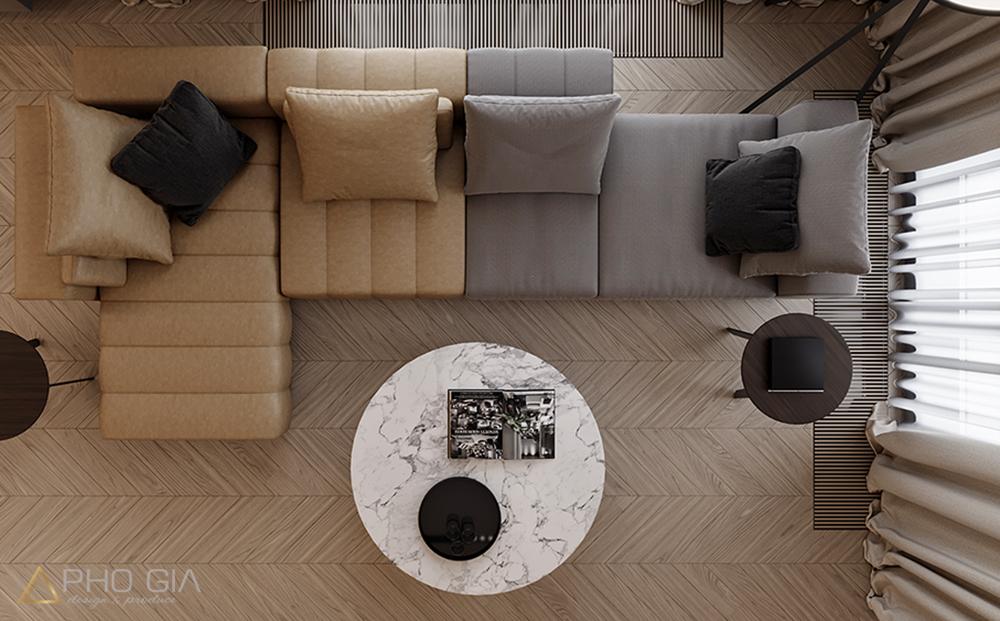 thiết kế nội thất villa vạn phúc city
